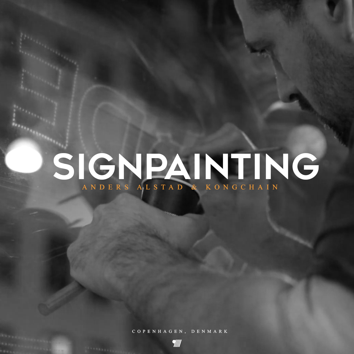 Sign Painting - Anders Alstad & Kongchain