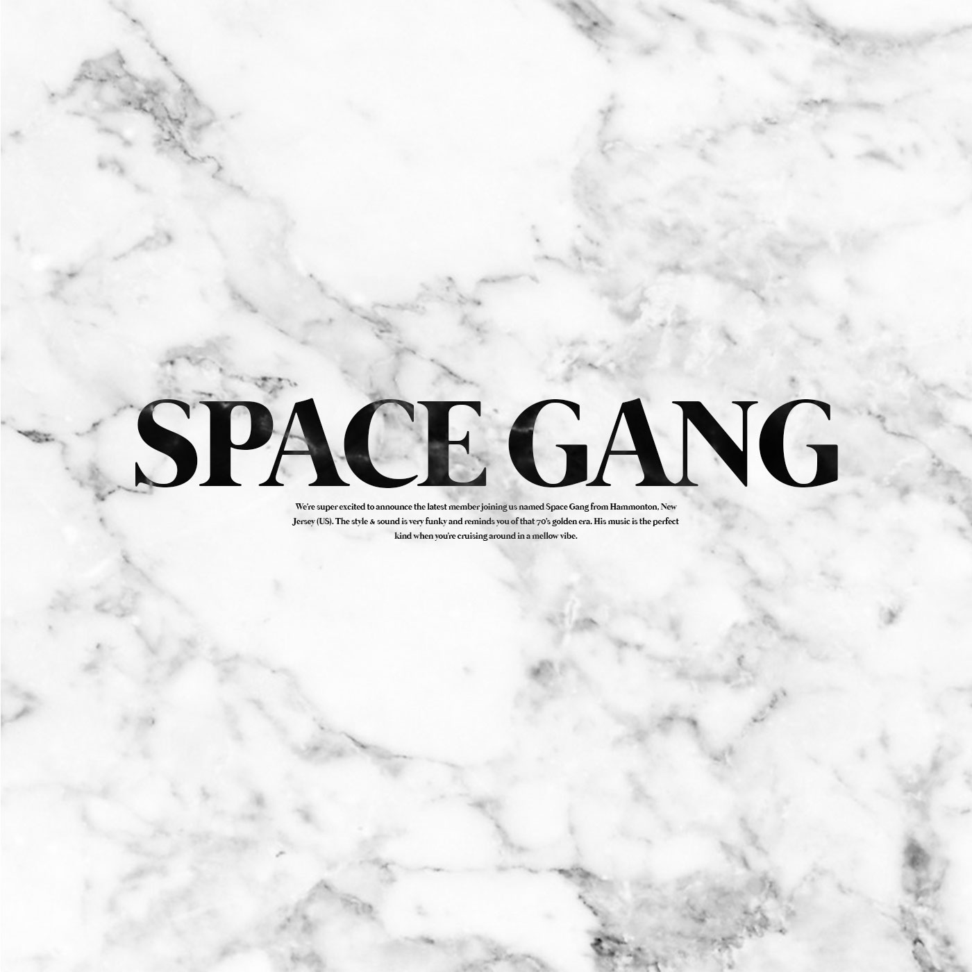 Welcome - SPACE GANG