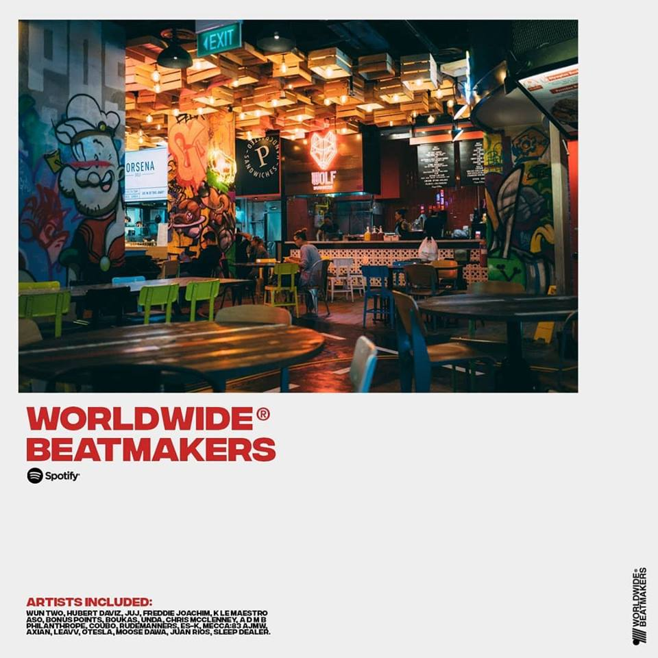 Worldwide Beatmakers® - The Spotify Playlist.