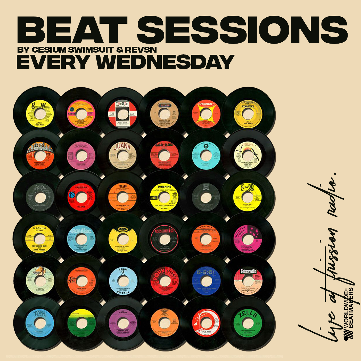 Beat Sessions - Episode 10 Season 04 with Cesium Swimsuit.