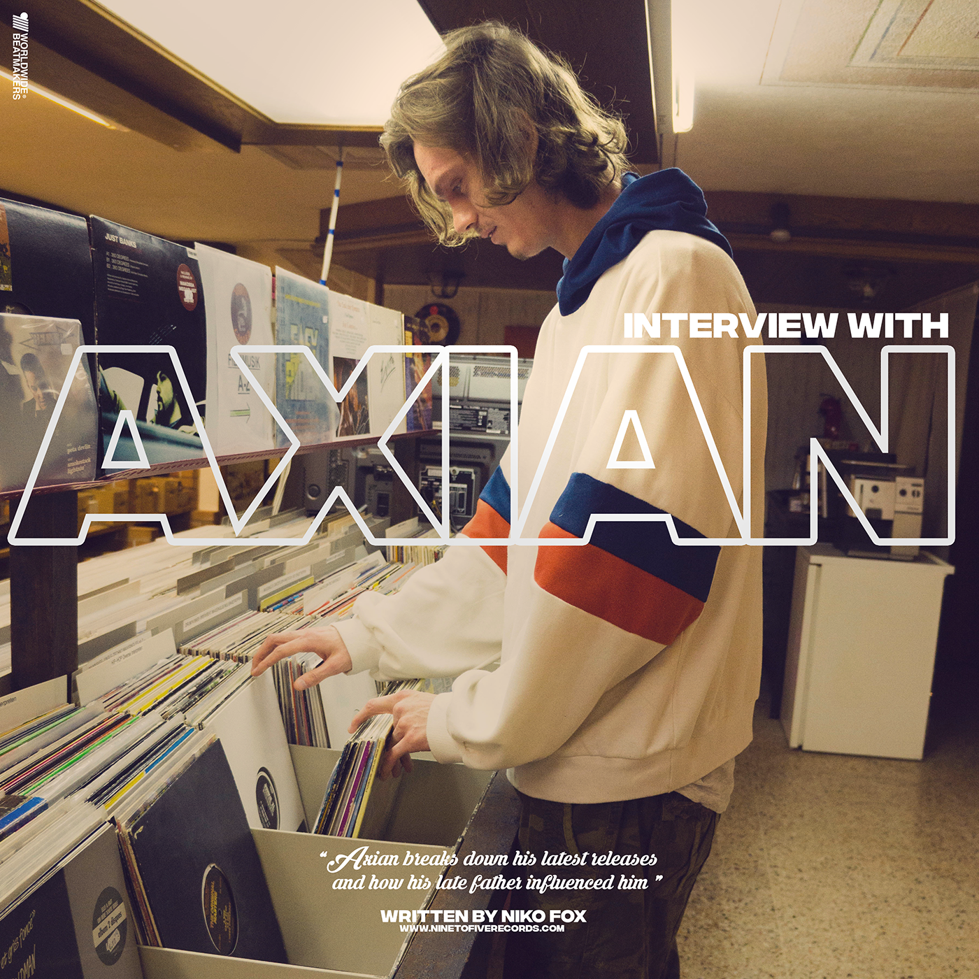 Axian breaks down his latest releases and how his late father influenced him