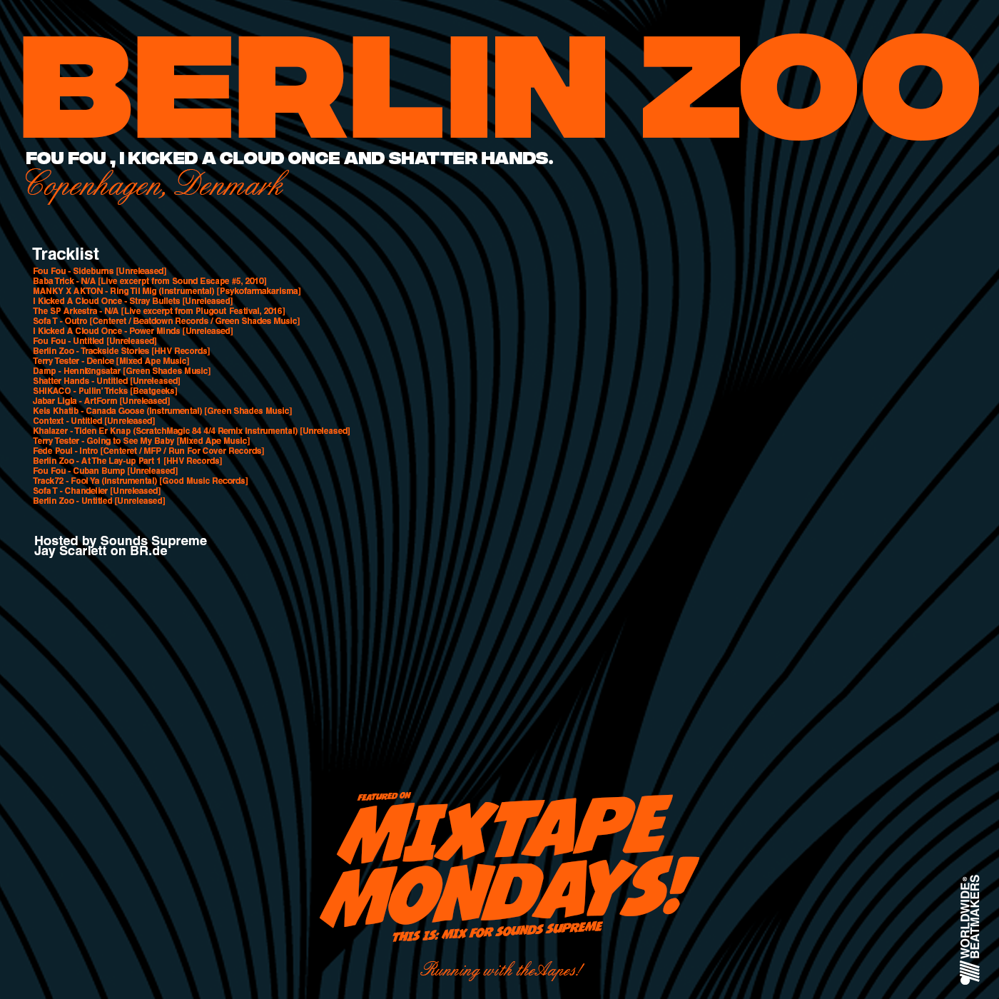 Mixtape Mondays: Berlin Zoo (Mix For Sounds Supreme)