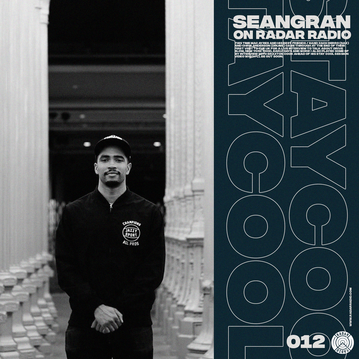 Stay Cool with seangran on Radar Radio.